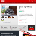 Ziggy by Ziegler & Brown Portable Grill Now $249 (Save $100) @ BBQ Galore