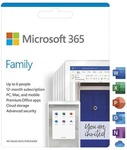 Microsoft 365 Family 6 People 12 Month Card - $89 + Delivery @ Dick Smith / Kogan