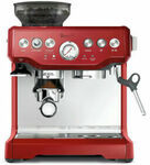 Breville BES870 (Crimson Only) Coffee Machine $549 Delivered @ Bing Lee (and eBay Store)