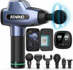 RENPHO Deep Tissue Massage Gun for Athletes $119.99 Shipped ($30 off) @ AC GREEN Amazon AU