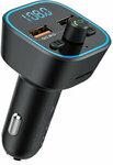 Blitzwolf BW-BC1 Car Bluetooth 5.0 FM Transmitter & QC 3.0 Charger US$10.99 (~A$14.27) AU Stock Delivered @ Banggood