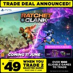 [PS5, Pre Order] Ratchet & Clank: Rift Apart $49 with 2 Eligible Games Trade-in @ EB Games