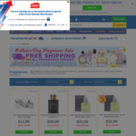 Free Shipping on Whole Order With Fragrance Purchase (From $2.99) @ Chemist Warehouse / My Chemist
