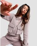Ellesse Women's Utility Track Pants and Crop Sweatshirt Set $20 + $6 Postage @ JD Sports