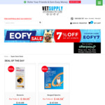 7% off Pet Supplies & Free Shipping @ Vet Supply