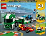 LEGO 31113 Creator 3 in 1 Race Car Transporter Toy Truck Building Set $18.79 + Delivery ($0 with Prime/ $39 Spend) @ Amazon AU