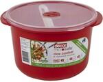 Decor Microsafe Rice Cooker & Veg Steamer 2.75L $5 (Was $10) + Delivery ($0 C&C) @ BIG W / + Delivery ($0 Prime) @ Amazon AU