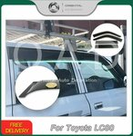Weather Shields for Toyota LandCruiser 80 Series from $42.99 Delivered @ Orientalautodecoration