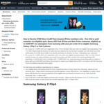 [Pre Order, Prime] Samsung Galaxy Z Fold3 from $2499, Galaxy Z Flip3 from $1499 Delivered, $100 Amazon Credit & Gift @ Amazon AU