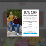 15-25% off Everything Including Schoolwear (Excludes Giftcards) + $10 Delivery ($0 with $100 Order) @ Lowes