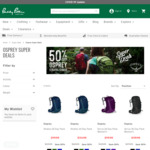 50% off Osprey Stratos/Sirrus Day Packs - 24L $119.98, 34L $134.98 Delivered/Click+Collect/In-Store @ Paddy Pallin