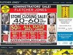 Fletcher Jones Closing down Sales