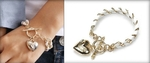 $29 Innovative Heart Necklace - Wear 2 Styles (RRP $95) include postage