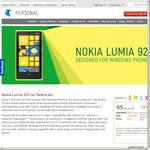 Nokia Lumia 920 - $696 Outright (Unlocked) at Telstra Stores (in Stock as of Today!)