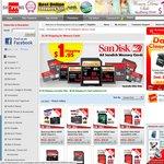 ShoppingSquare $1.95 Shipping for Memory Cards - SanDisk Ultra 64GB microSDXC $56.95