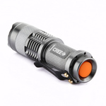 CREE Q5 300LM Mini Zoomable EDC LED Flashlight Silver $6.49 Delivered