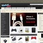 WD Portable 1TB $69.50, 1.5TB $89.98, 2TB $125.95, Logitech iPad Keyboard $53.40, WDTV Live $96
