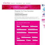 Free Sample CAREFREE® ACTI-FRESH® Liners