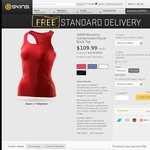 A400 Women's Compression Racer Back Top $35 Free Shipping Skins.com.au