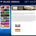 4 Village Gold Class Tickets for $80