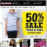 General Pants Online 50% off Sale