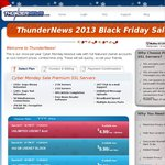 Thundernews Black Friday Sale: Unlimited Usenet $4.99 USD / Month