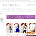 40% off All Women's Clothing, Shoes & Accessories - Free Exp Shipping over $75 @ Honeypeaches