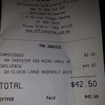 Cluedo Bookshelf Gloss White $40.50 @ Officeworks Mackay