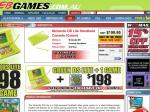 $198 Nintendo DS Lite Handheld Console (Green) + NDS Animal Crossing @ EB GAMES