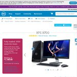 "DELL XPS8700 Desktop Computer $1198 Shipped i7-4770, 24"" S2440 LED Monitor, 12GB Ram, 1 TBHD"
