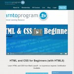 Free HTML and CSS for Beginners Course from LearnToProgram $0-- Usually $49