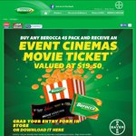 FREE Event Cinema Movie Voucher (Worth $19.50) When You Buy Any Berocca 45 Pack