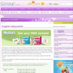 Free Sample of Huggies Nappy-Pant [Toddler, Walker & Junior for Boys and Girls]