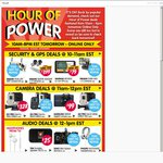 Hour of Power @ Dick Smith -Online Only- Tuesday 22nd July
