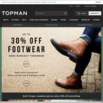 20% off Topman Sitewide