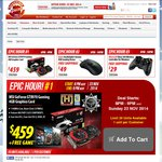 SE Epic Hour - MSI GTX 970 Gaming $459 (+ Game), Razer Deathadder $49, Xbox 360 Controller $29
