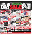 End of Year Sale - Up to 70% off. Ends 23 Dec @Harris Scarfe