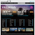 USA on SALE: Los Angeles Return MEL $918, BNE $934, SYD $935 @ Air New Zealand