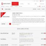 Qantas Mall: Spend $150 at David Jones to Get a $25 Voucher