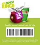 $2 off Next Boost Juice Using Boost Bingo