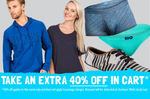 Fashion Clearance 40% off in Cart @ CatchOfTheDay