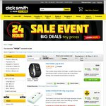 Powerboards from $5 with/without (12 Outlet, $19.80) Surge @ Dick Smith