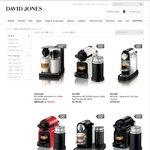 Save 15% on Nespresso Machines, Plus Get up to $70 Cashback at www.davidjones.com.au