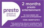 2 Months + 1 Month Free Presto @ Shopadocket