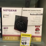 NetGear D6300 AC1600 Dual Band Modem Router $69 @ Dick Smith (Limited Stock)