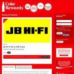 $5 JB HI-FI  e-Gift Card for 100 Tokens @ Coke Rewards