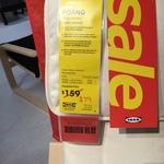IKEA Poäng Armchair Frame and White Cushion $79 (50% off) at IKEA Marsden Park NSW