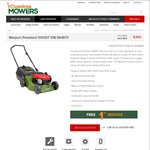 Masport President 1000ST Lawn Mower, Now $389 (Save $50), Pickup in-Store Only VIC @ Hastings Mowers