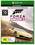 Forza Horizon 2 Ten Year Anniversary Edition for Xbox One $29.95 Delivered @ Microsoft Store