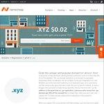 $0.03 .xyz Domain Name Registration (1 Year) @ NameCheap
